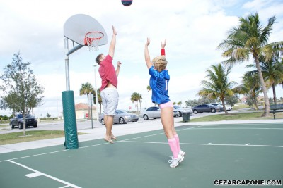 Brianna Beach Basketball